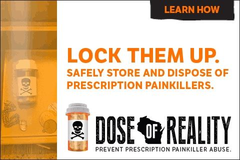 Lock them up. Safely store and dispose of prescription painkillers. Opens in new window