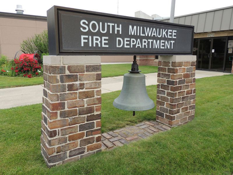 South Milwaukee Fire Department Building Sign